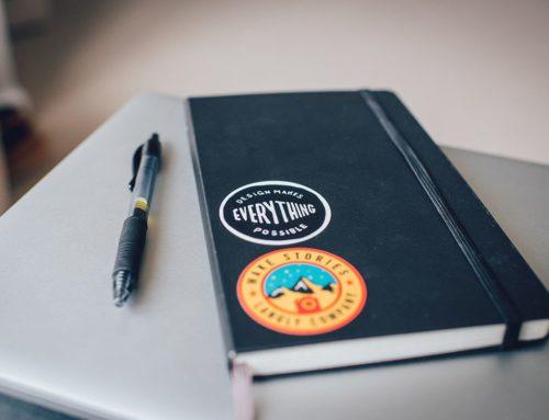 Design Basics: Always carry a notebook